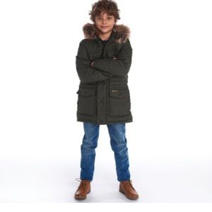 Barbour Boys' Quilted Parka